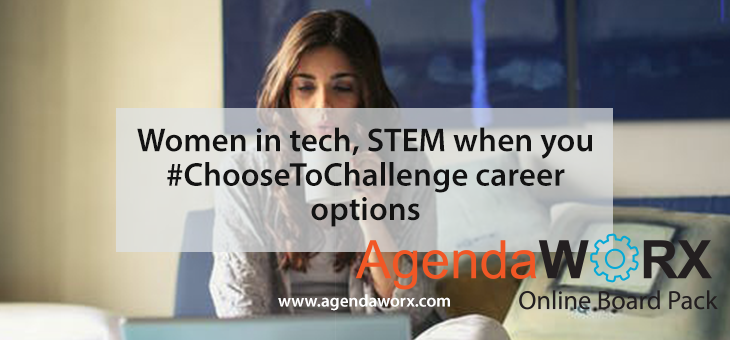 Women in tech, STEM when you #ChooseToChallenge career options